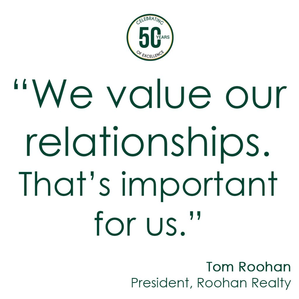 we value our relationships tom roohan quote roohan realty saratoga ny