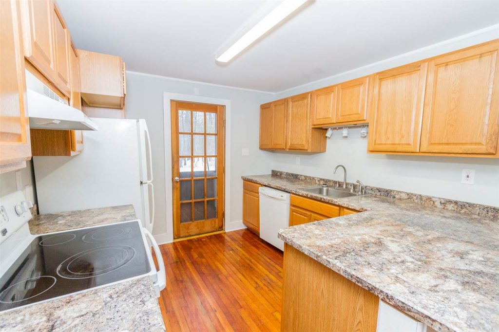 1937 Route 9N has a modern kitchen featuring new counters, cabinets and appliances
