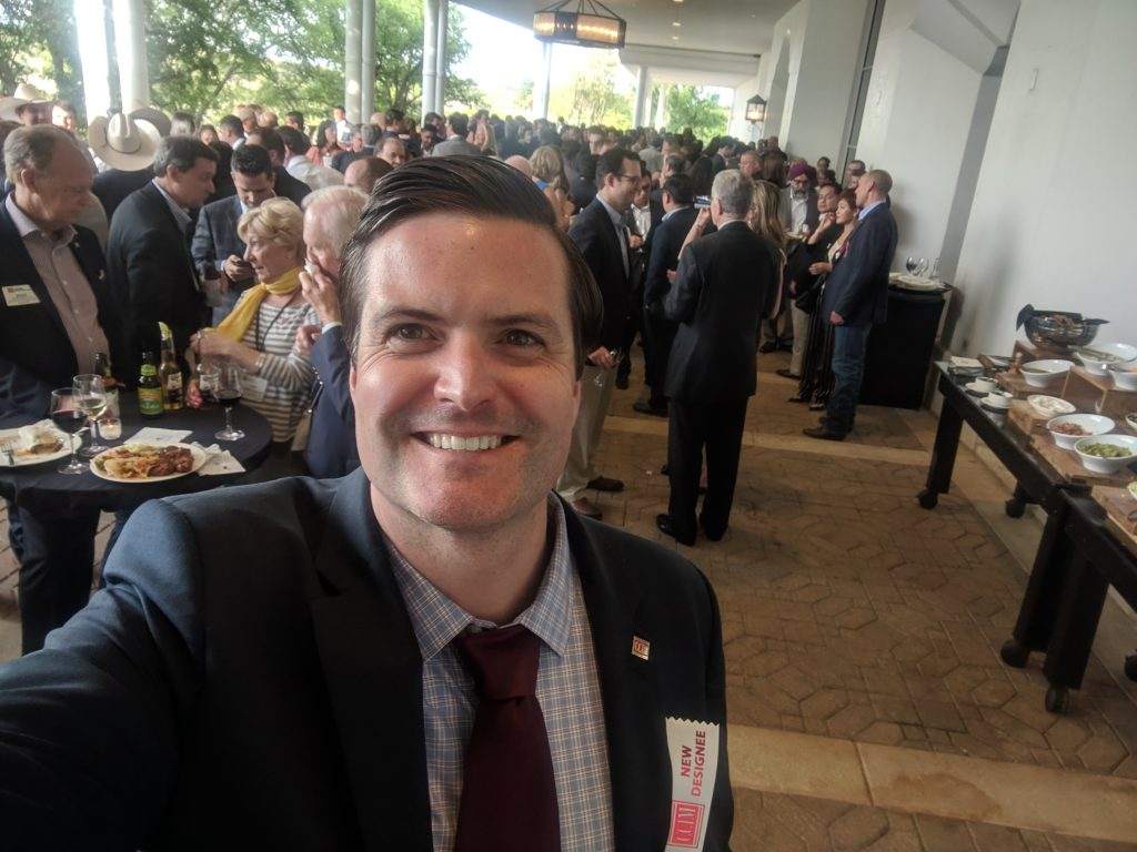 Gerard Wise, Associate Real Estate Broker, snaps a selfie after completing his CCIM designation. Wise is one of only four CCIMs currently in Saratoga County.