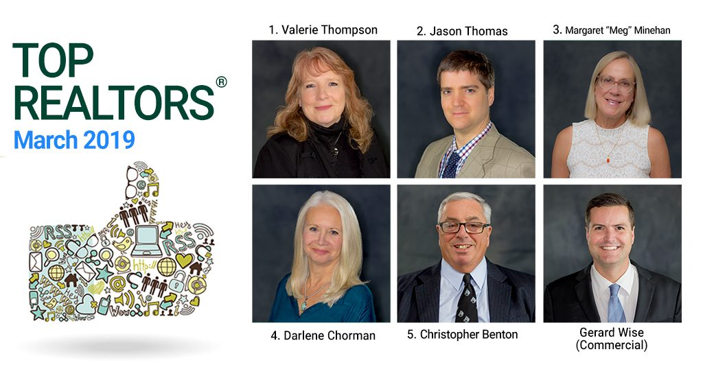 top roohan realty real estate agents for march 2019