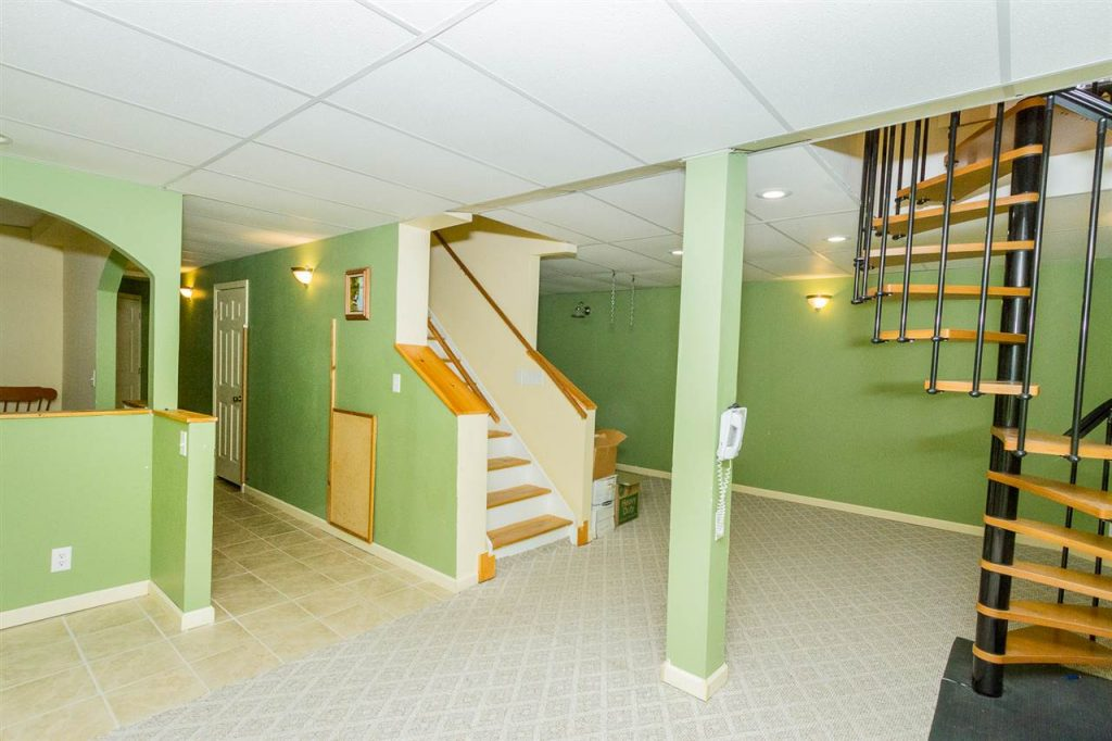 157 Traver Road Gansevoort NY - Very spacious finished basement that could be made into a great in-law apartment.