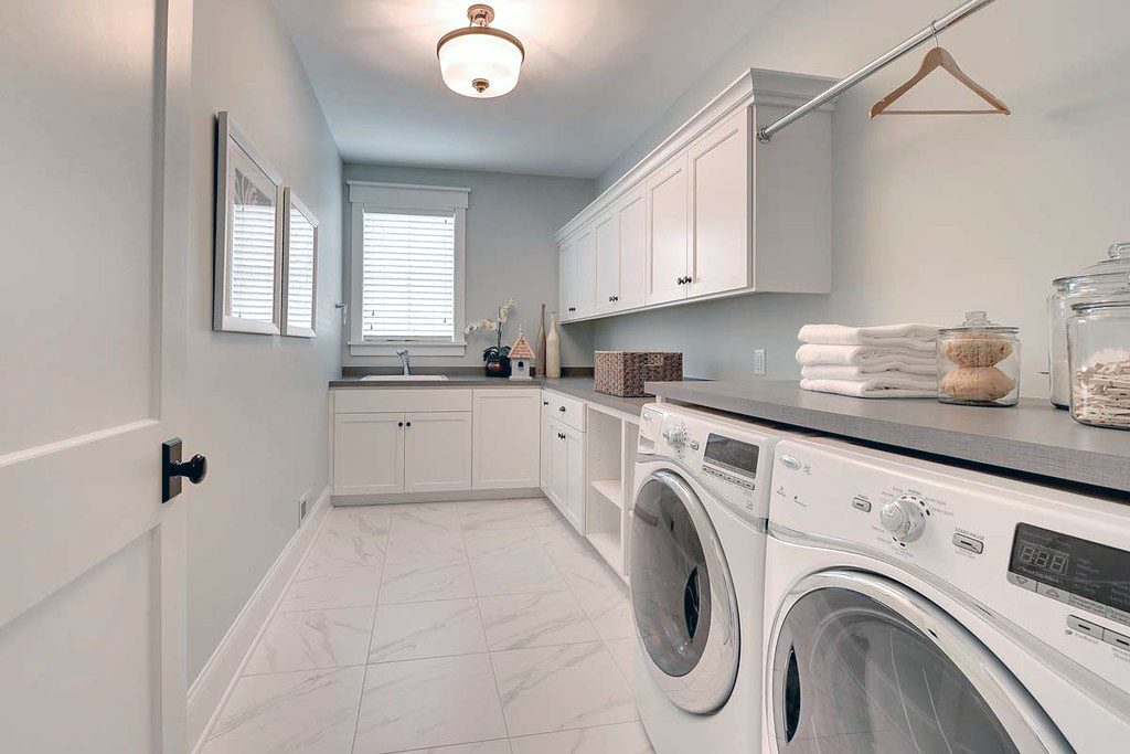 laundry room wanted by most home buyers