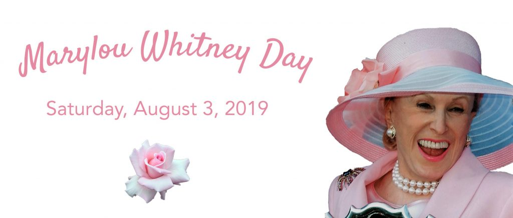 marylou whitney day august 3 2019