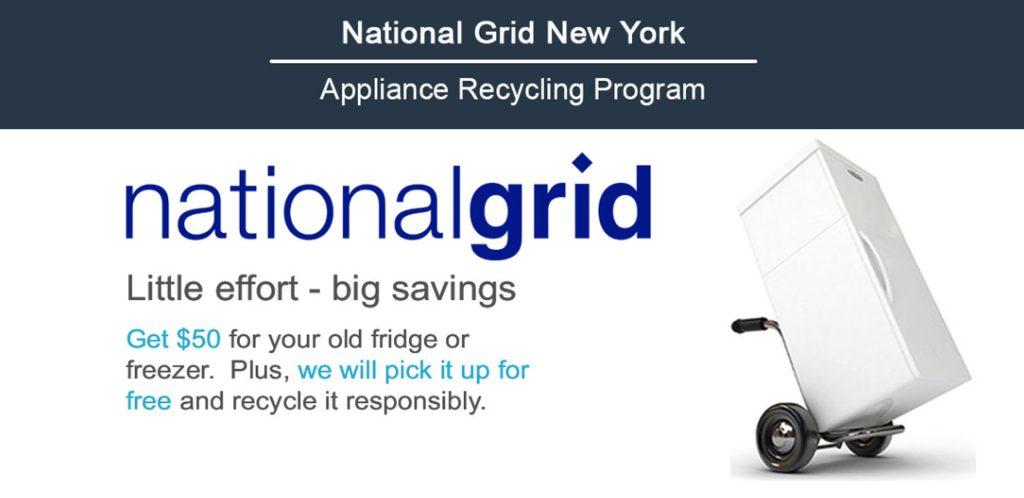 national grid ny refrigerator recycling program