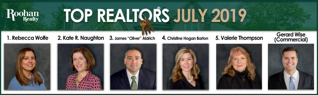 top agents july 2019