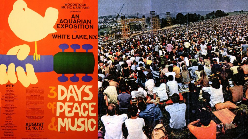 Image result for opening ceremony of woodstock 1969