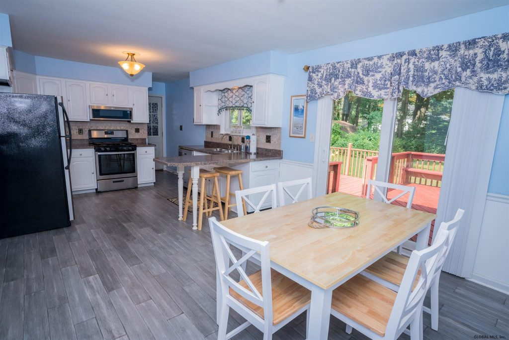 16 Walter Drive saratoga springs NY 12866 has an updated kitchen with all new appliances.