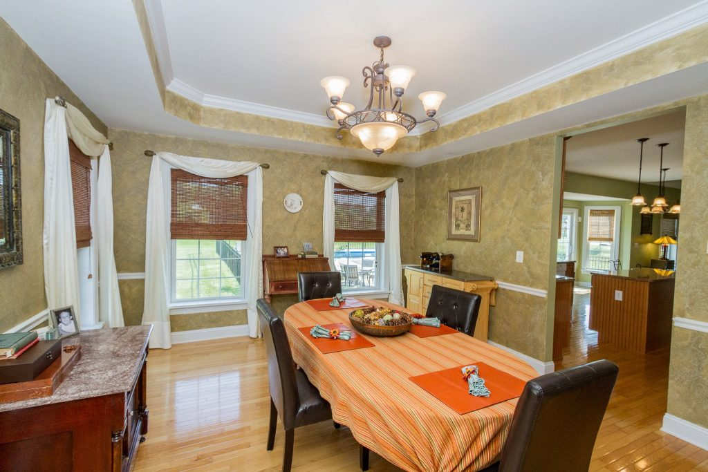 44 Stratton Lane, Stillwater, NY 12170 is a home for sale with tray ceiling dining room.