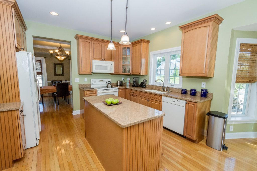 44 Stratton Lane in Stillwater, NY is a home for sale with beautiful granite kitchen