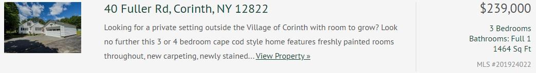 40 fuller road corinth ny 12822