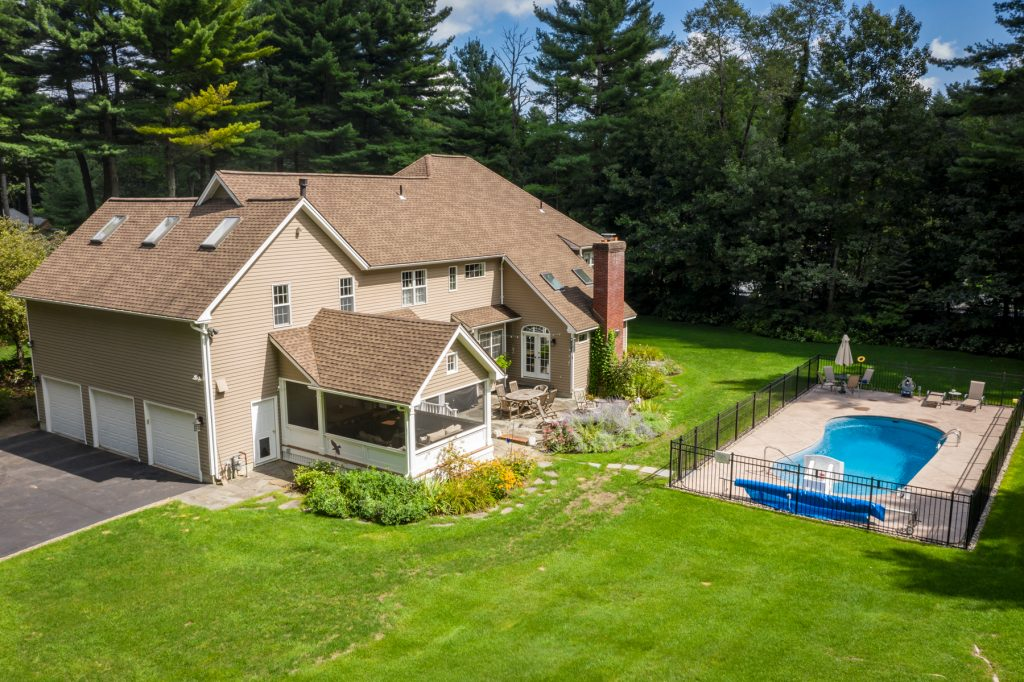 16 Beacon Hill Drive is a home for sale in saratoga springs new york with a saltwater pool