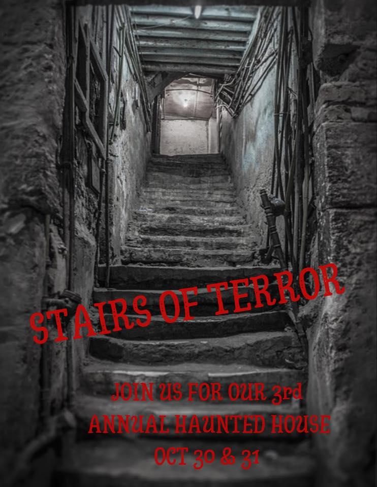 saratoga city tavern haunted house halloween 2019