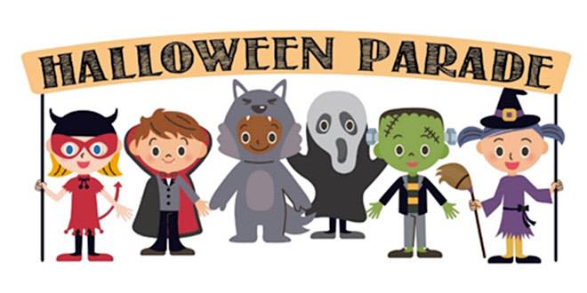 Halloween party and parade at wiggle worms moreau
