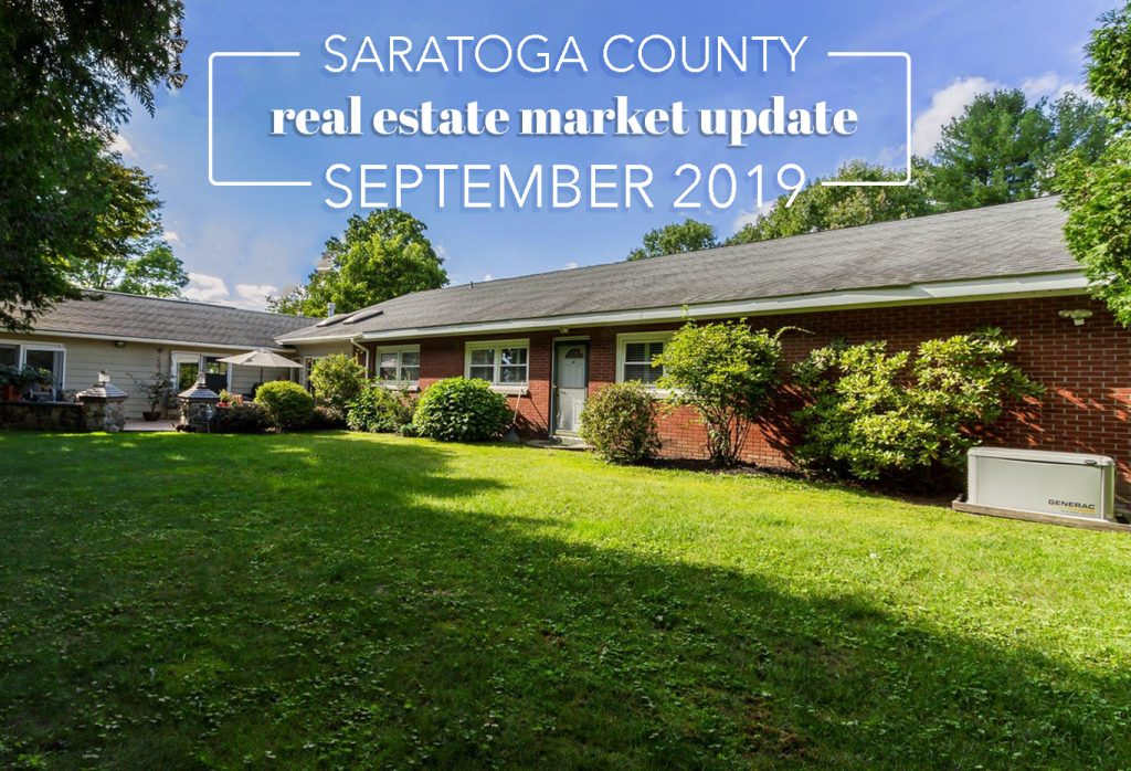 saratoga county real estate market update for september 2019 by eli king