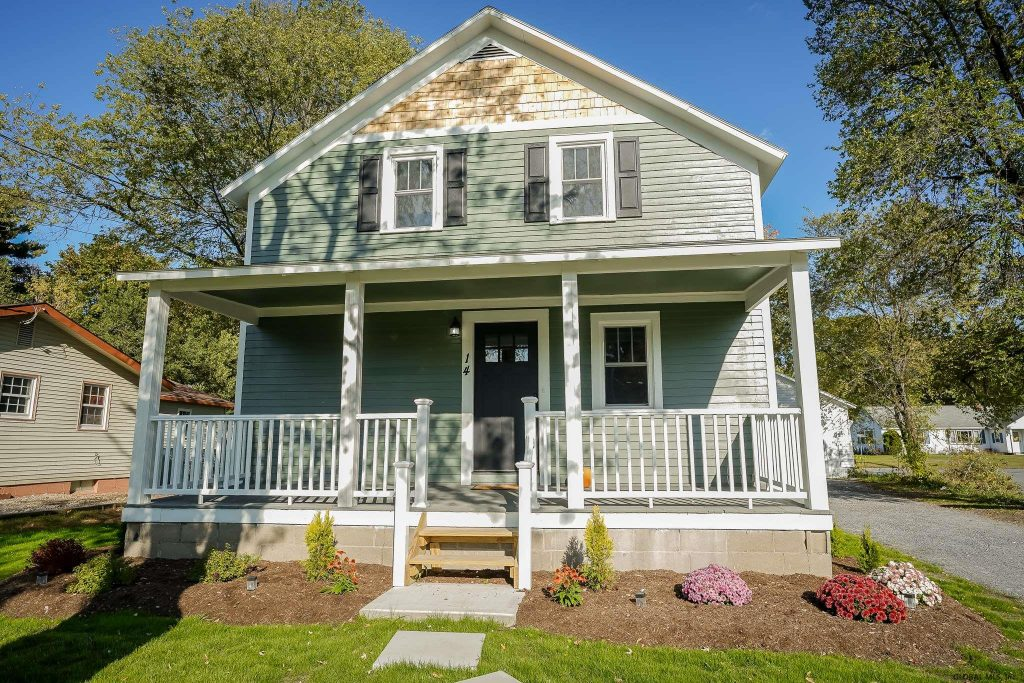 14 Prospect Street is a home for sale in South Glens Falls, NY with 4 bedrooms and 2.5 bathrooms for $238,500