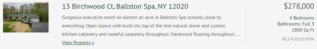 13 Birchwood Drive Ballston Spa Ny 12020