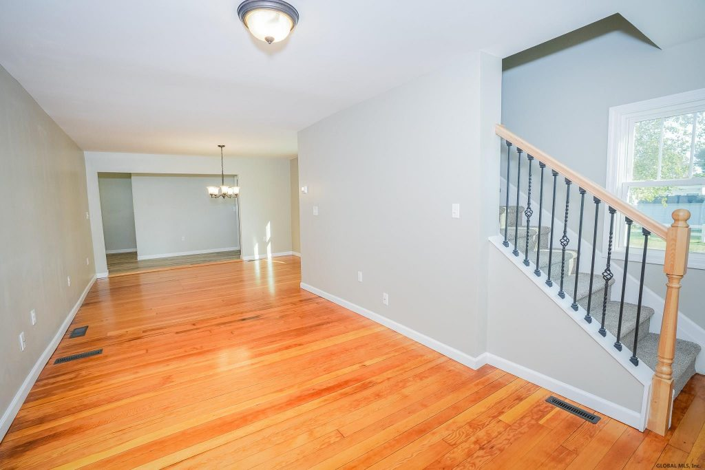 14 Prospect Street has beautiful hardwood floors throughout the first floor.