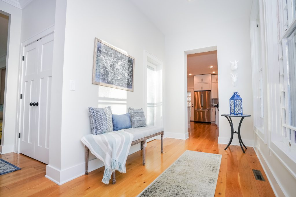 2 North Circular Street is a home for sale in Saratoga Springs, NY with wide plank wood floors and spectacular natural lighting