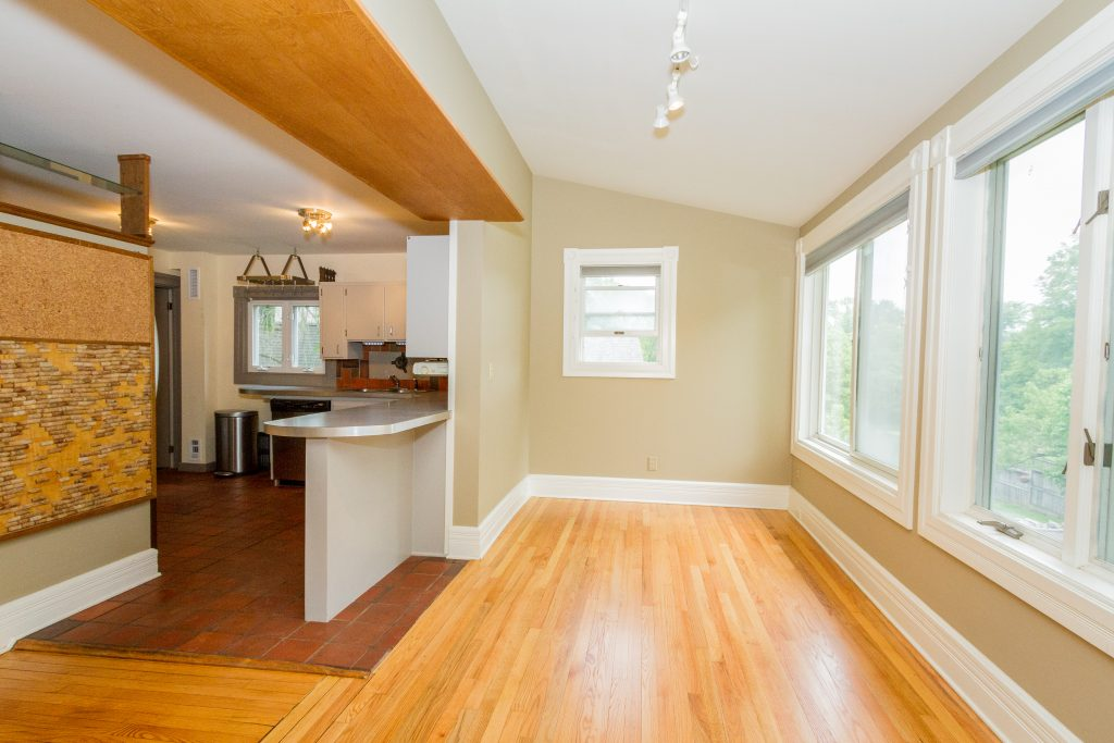 240 Broad Street is a home for sale in Schuylerville, NY with gleaming hardwood floors throughout.