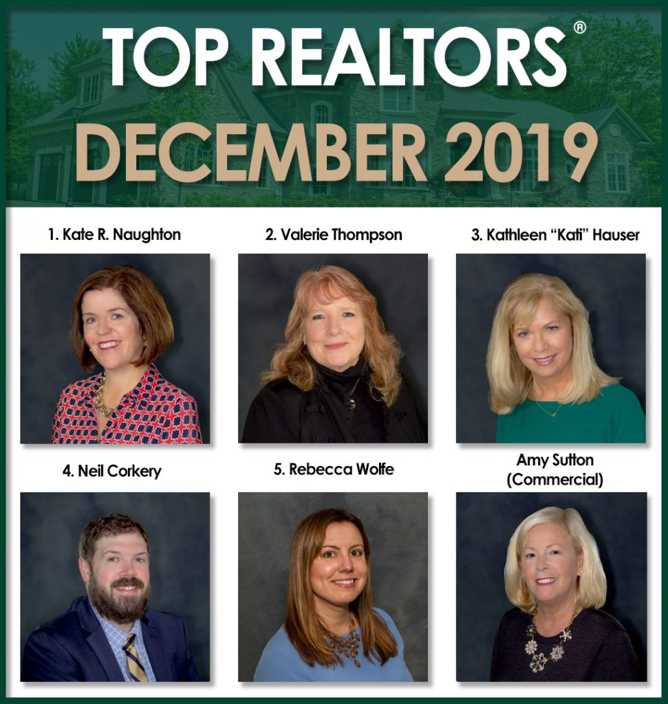 December 2019 top agents Roohan Realty Saratoga Springs NY