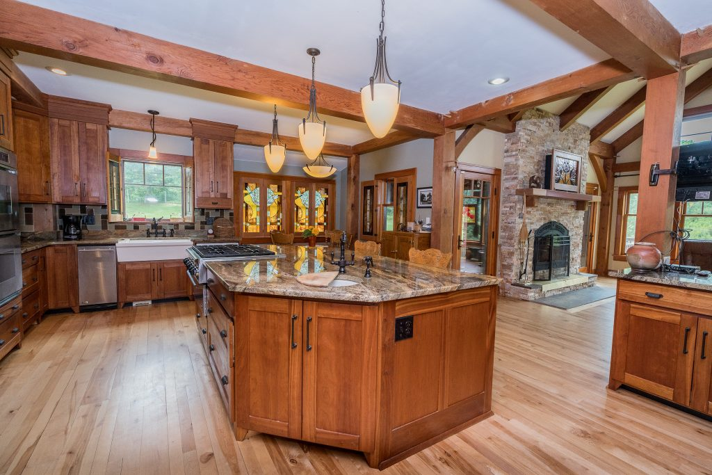 1324 Vly Summit Road is a home for sale in Greenwhich, NY with a modern over-sized kitchen
