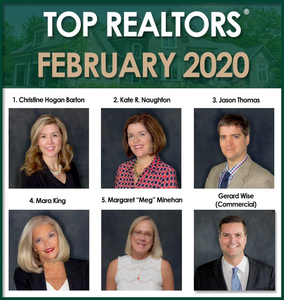 February 2020 top agents Roohan Realty Saratoga Springs NY