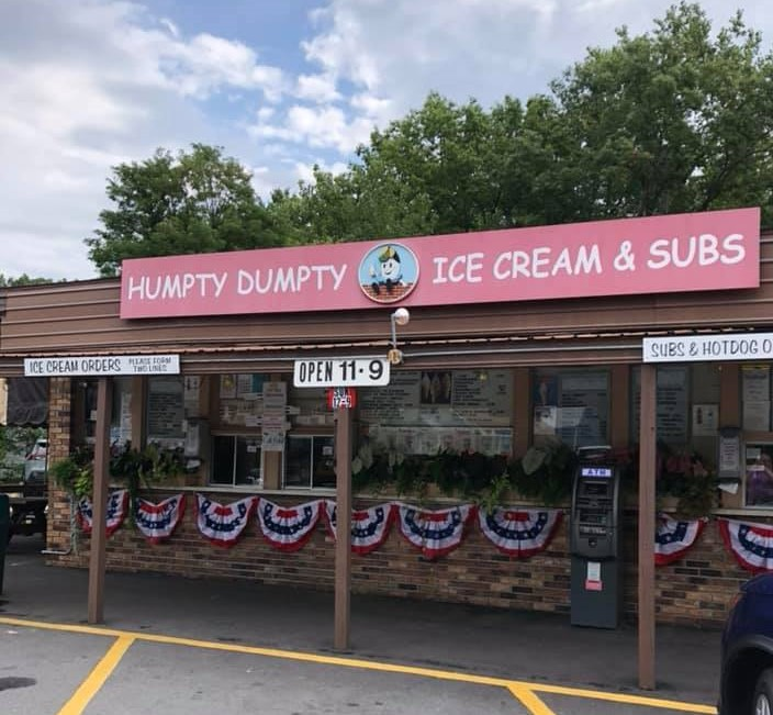 humpty dumpty ice cream and subs saratoga ny 2020