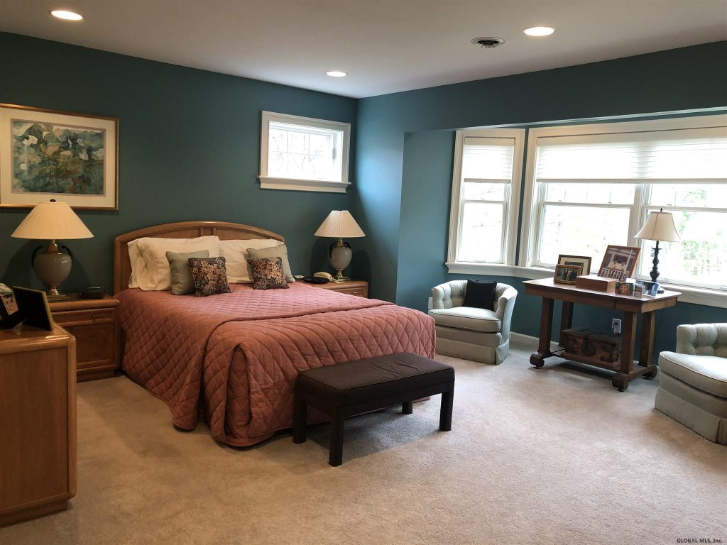 54 Waterview Drive is a home for sale in Saratoga Springs, NY 12866 with a generous master suite with beautiful sitting area