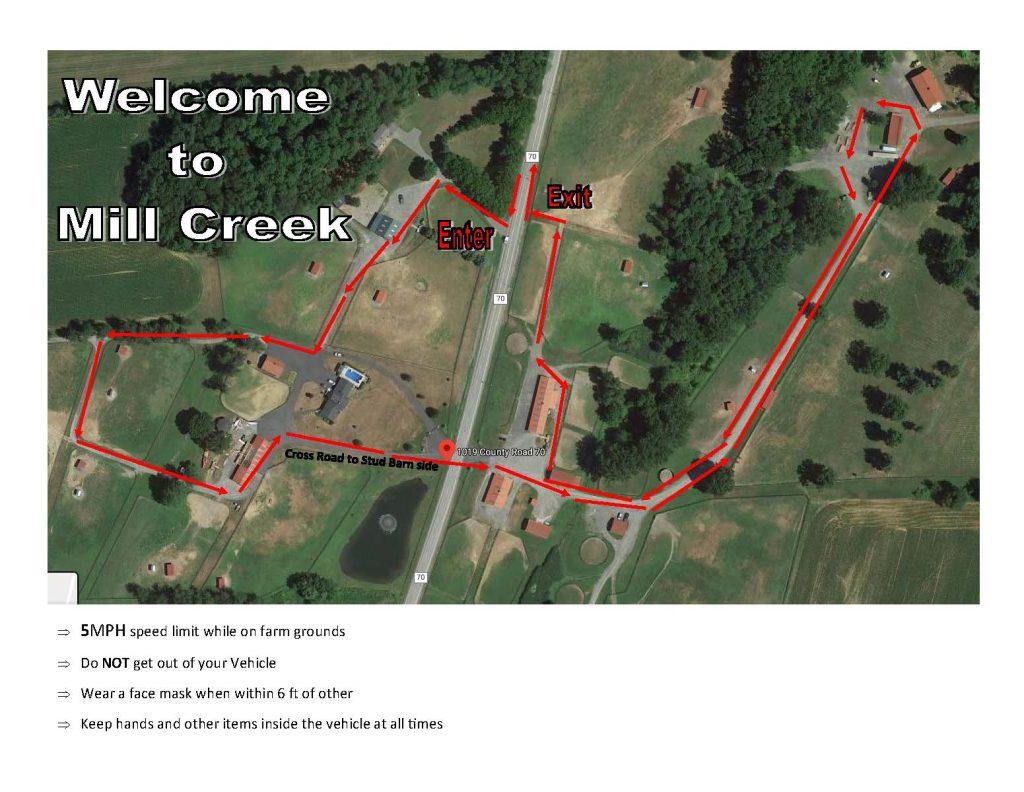 mil creek farm map saratoga ny