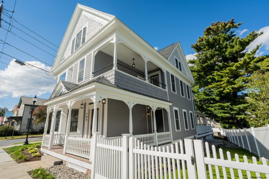 109 Washington Street is a 3 family home for sale in Saratoga Springs, NY 12866