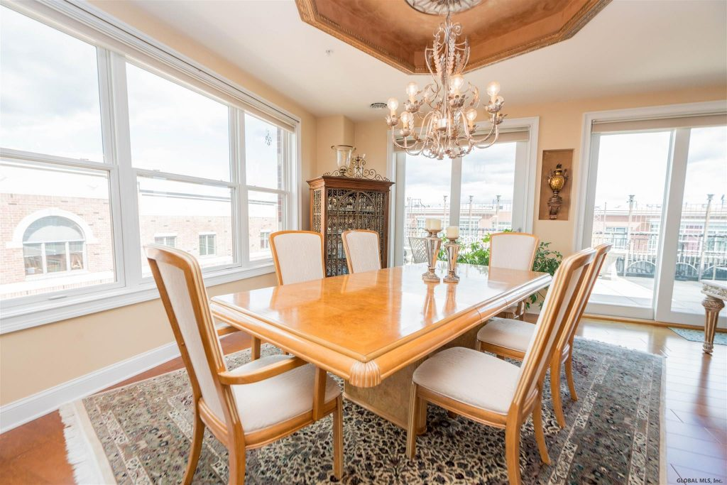 70 Railroad Place is a penthouse for sale in Saratoga Springs, NY