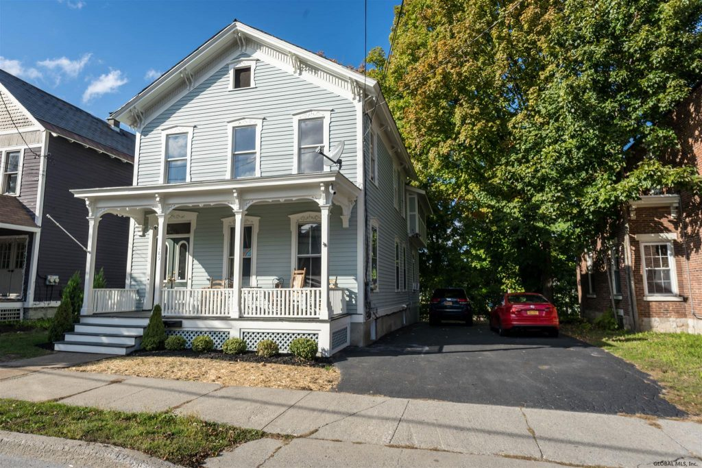 185 Washington Street is a 2 family home for sale in Saratoga Springs with 6 bedrooms and 2 bathrooms
