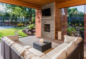outdoor living space 2021 home trends