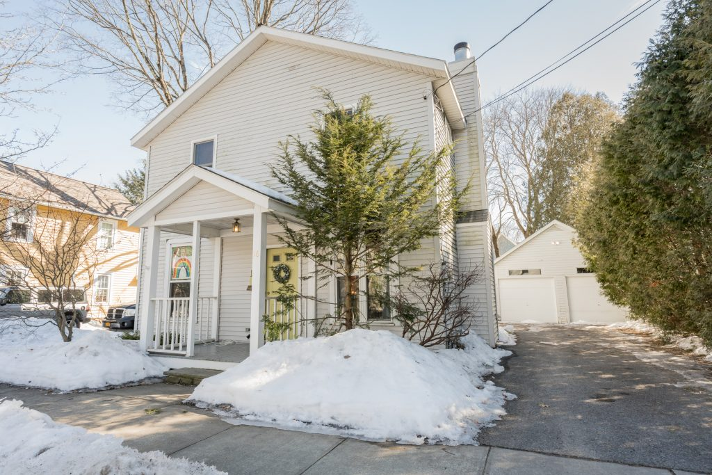 16 Hutchins Street is a home for sale in Saratoga Springs, NY 12866 with 3 bedrooms, 1.5 bathrooms for $599,900