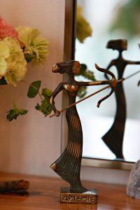 artemis goddess figurine