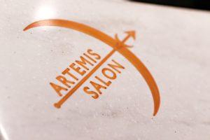 artemis salon saratoga logo