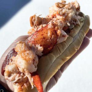 Eddie F's beloved Lobster Roll