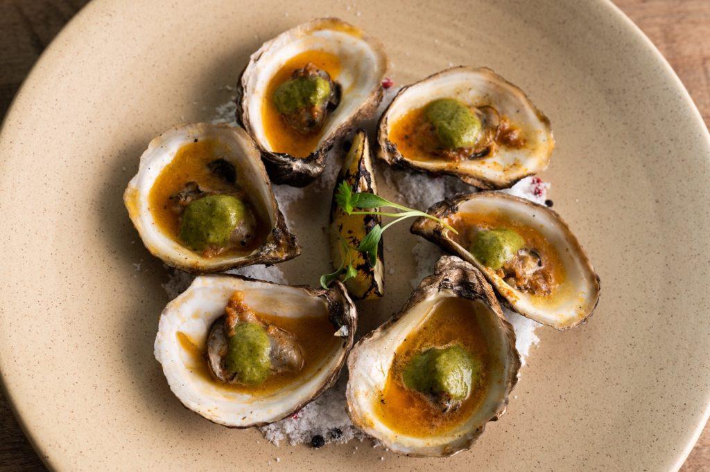 seneca wood grilled oysters saratoga ny